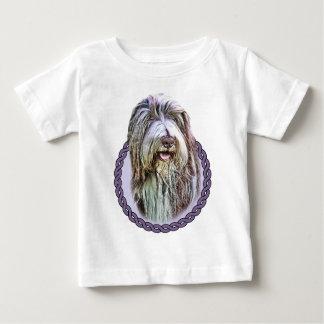 Camiseta Para Bebê Collie farpado 001
