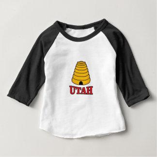 Camiseta Para Bebê colmeia de Utá