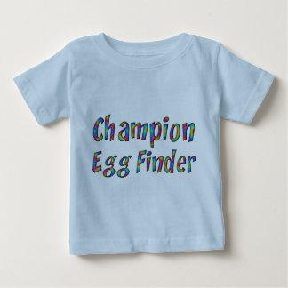 Camiseta Para Bebê Colorido engraçado do inventor do ovo do campeão