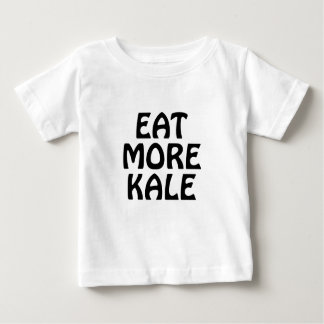 Camiseta Para Bebê Coma mais couve