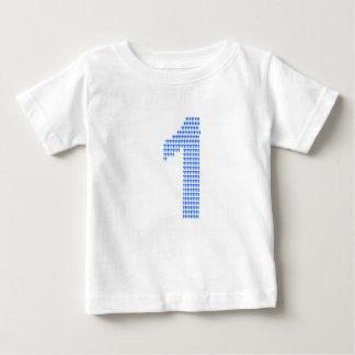 Camiseta Para Bebê Comemore ser 1