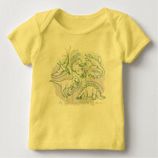 Camiseta Para Bebê Como o faça para dizer o t-shirt do bebê dos