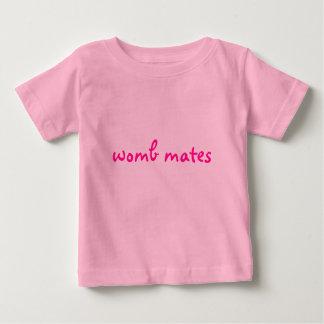Camiseta Para Bebê companheiros do ventre