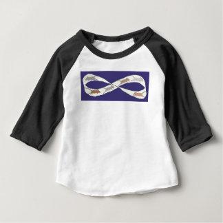Camiseta Para Bebê Competição desenfreada infinita
