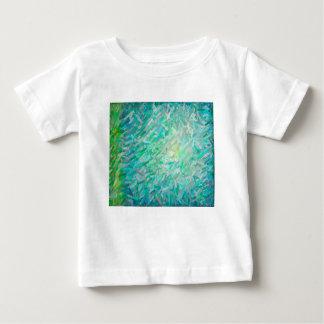 Camiseta Para Bebê Composição abstrata 2 da cor de Imposto