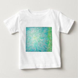 Camiseta Para Bebê Composição abstrata da cor de Imposto