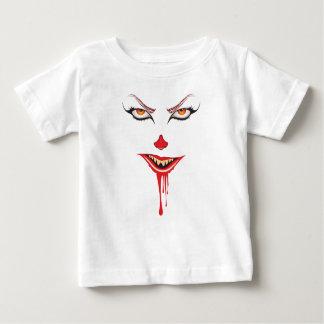 Camiseta Para Bebê Composição assustador do Dia das Bruxas