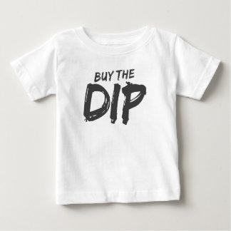 Camiseta Para Bebê Compre o impressão do preto do mergulho