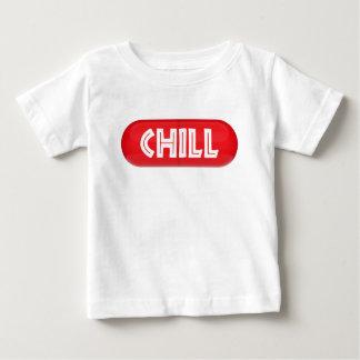 Camiseta Para Bebê Comprimido frio