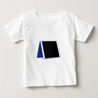 Camiseta Para Bebê Computador da tabuleta no branco