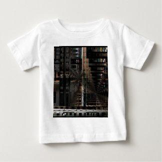 Camiseta Para Bebê Computador eletrônico de conselho de circuito de