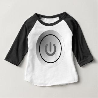 Camiseta Para Bebê comute a marca redonda do design do círculo do