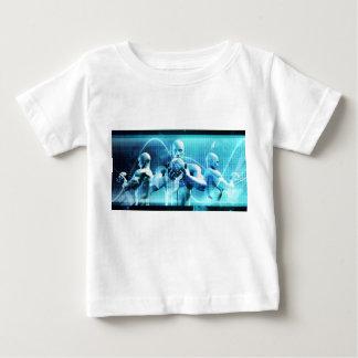 Camiseta Para Bebê Conceito global da conferência como um fundo