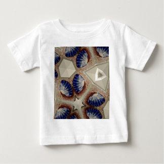 Camiseta Para Bebê Conchas e mais