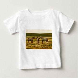 Camiseta Para Bebê Conferência do cavalo