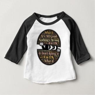 Camiseta Para Bebê Confuso