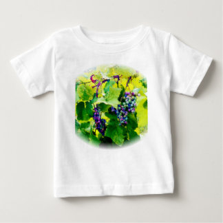 Camiseta Para Bebê conjuntos de uvas 17