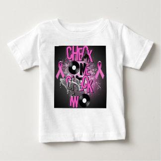 Camiseta Para Bebê Consciência do cancro da mama