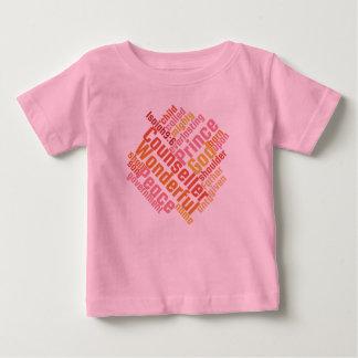 Camiseta Para Bebê CONSELHEIRO MARAVILHOSO cristão