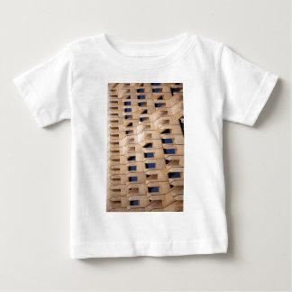 Camiseta Para Bebê Construção abstrata