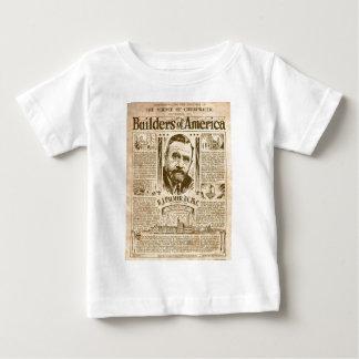 Camiseta Para Bebê construtores de América