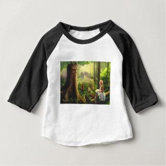 Camiseta Para Bebê Contos da árvore de sussurro