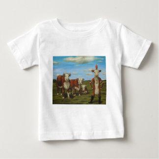 Camiseta Para Bebê Contra o rebanho