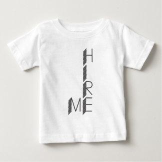 Camiseta Para Bebê contrate-me