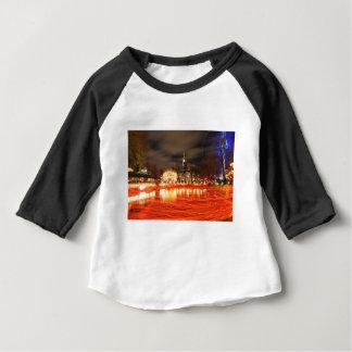 Camiseta Para Bebê Copenhaga, Dinamarca no Natal