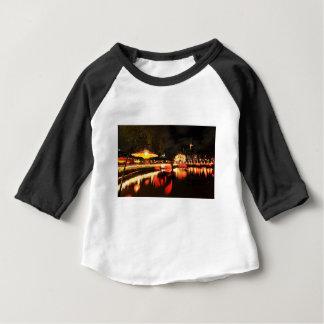 Camiseta Para Bebê Copenhaga no Natal