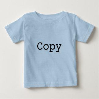 """Camiseta Para Bebê Cópia e pasta para gêmeos """"CÓPIA """""""