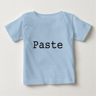 """Camiseta Para Bebê Cópia e pasta para gêmeos """"PASTA """""""