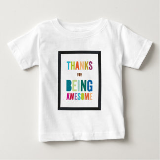 Camiseta Para Bebê Copo bonito