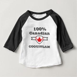 Camiseta Para Bebê Coquitlam 100%