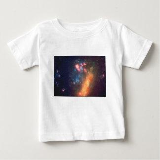 Camiseta Para Bebê Cor galáctica abstrata da nuvem da nebulosa