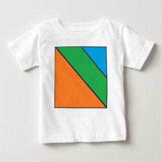 Camiseta Para Bebê cor que obstrui seu verão