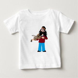 Camiseta Para Bebê Coração e alma