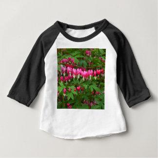 Camiseta Para Bebê Corações de sangramento natureza, foto
