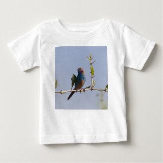 Camiseta Para Bebê Cordonbleu cheeked vermelho (bengalus de