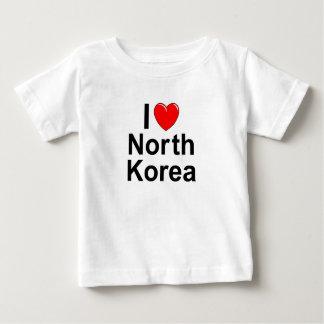 Camiseta Para Bebê Coreia do Norte
