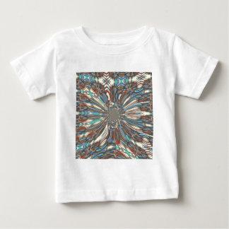 Camiseta Para Bebê Cores bonitas fantásticas urbanas do design