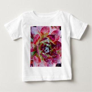 Camiseta Para Bebê Cores da natureza e formas