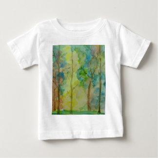 Camiseta Para Bebê Cores do outono