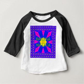 Camiseta Para Bebê Cores surpreendentes bonitas do design de Hakuna