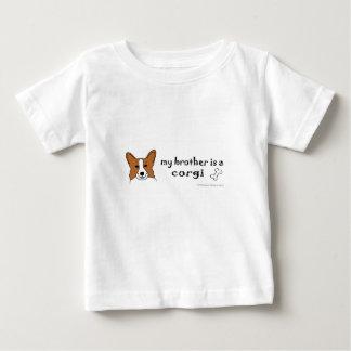 Camiseta Para Bebê corgi