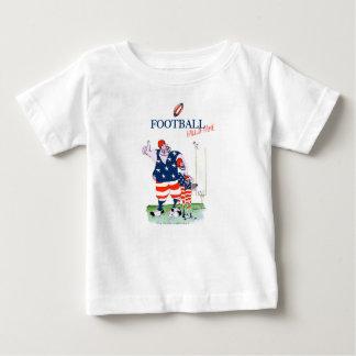 Camiseta Para Bebê Corredor da fama do futebol, fernandes tony