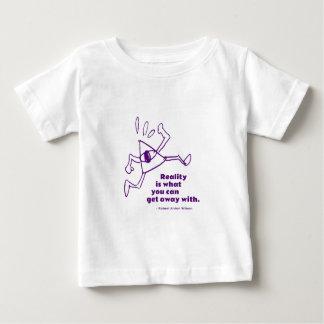 Camiseta Para Bebê Corredor da realidade