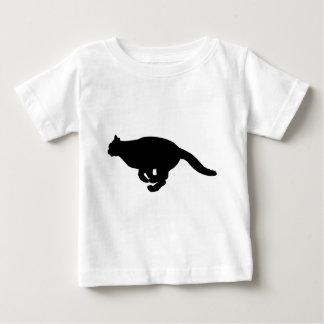 Camiseta Para Bebê Corredor do gato