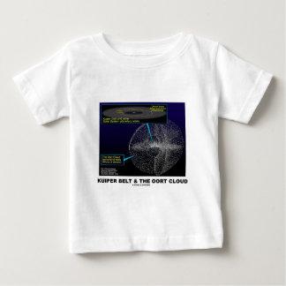 Camiseta Para Bebê Correia de Kuiper e a nuvem de Oort (astronomia)