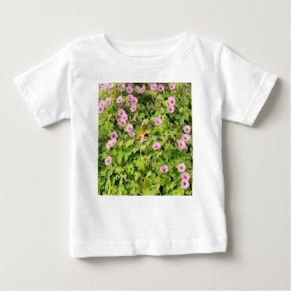 Camiseta Para Bebê Corriolas cor-de-rosa Bush